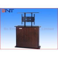 China Wireless Control Motorized TV Lift , Plasma TV Cabinet Lift Cold Rolled Steel on sale