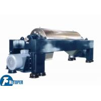 Wholesale Chemical Wastewater Treatment Industrial Decanter Centrifuge Continuous Operation from china suppliers