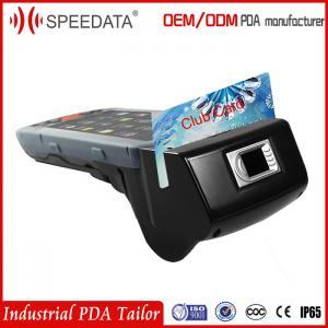 Buy cheap 4g Handheld Fingerprint Scanner Mobile Barcode Scanner Android from wholesalers