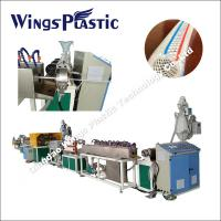 Wholesale Plastic PVC Garden Hose Manufacturing Machine / PVC Fiber Braided Pipe Production Line from china suppliers
