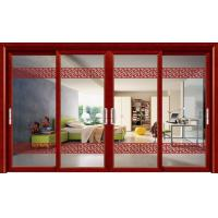 Wholesale Large Living Room Four Panels Door Aluminium Sliding Door Double Tempered Glass from china suppliers