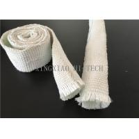 Wholesale Expandable Fiberglass Braided Heat Insulation Sleeve / Sleeving High Intensity from china suppliers