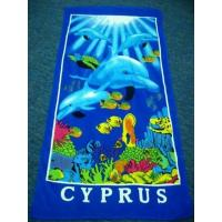 China 100% Cotton Printed Beach Towel on sale
