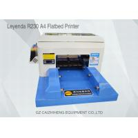 Wholesale High - Tech Eco Solvent Small Flatbed Inkjet Printer A4 Computer Operation from china suppliers