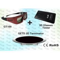Wholesale OEM 3D Emitter and IR 3D Glasses for 40~150 Seat Cinema from china suppliers