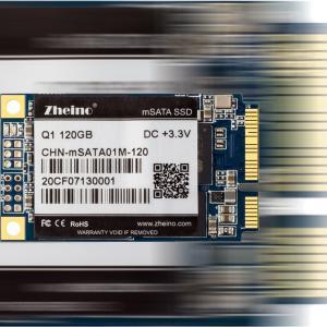 High Speed Internal mSATA SSD 120G MLC For PC Notebooks 3.3V Input