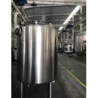 Wholesale Single Layer Stainless Steel Storage Tank , Temporary Storage Tanks For Juice / Beverage from china suppliers
