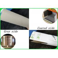 China Width 80×110cm Mixed Pulp 200 - 450gsm Coated Duplex Board For Packing Box on sale