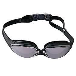 China Anti-fog racing swimming goggle with PC lens custom design S, M, L nose bridge on sale