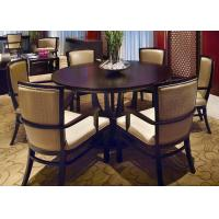 120 120 modern round tables finish wooden mahogany for Dining room table 40 x 120