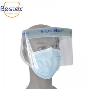 Wholesale Full Protective Thickness 0.25mm Antiviral Face Shield from china suppliers