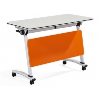 Buy cheap Ebunge Sliding Office Desks Training Table Foldable Conference Tables from wholesalers