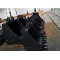 Wholesale Any Brand Excavator Digging Bucket For Backhoe 0.4-8m3 Capacity Custom Size from china suppliers