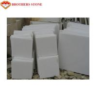 Wholesale Free Sample Pure White Marble Slab Polished , Crystal White Marble Tiles from china suppliers