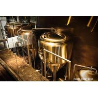 Wholesale SS304 / SS316l Microbrewery Brewing Equipment Small Beer Brewing Systems from china suppliers