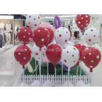 Wholesale Decorative Standing Fiberglass Balloons With Spot Pattern For Shopping Center from china suppliers