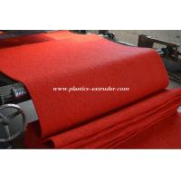 Wholesale Plastic Floor Mats Production Line , PVC Materials Carpet Making Machine from china suppliers