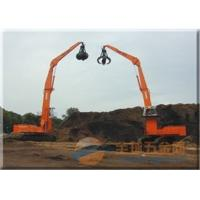 Wholesale Earthmoving Hydraulic Orange Peel Grab Doubl Shell CAT Excavator Attachments from china suppliers