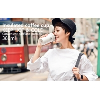 Wholesale Pink BSCI 380ml Vacuum Insulated Stainless Steel Travel Mug from china suppliers