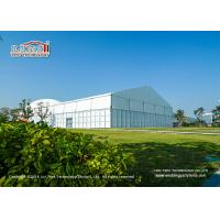 15x40m 400 Seaters Aluminum Luxury Wedding Tents With Glass Walls Decoration for sale