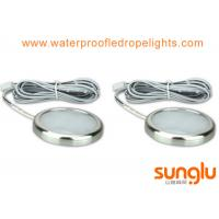 Wholesale 4500K Aluminum 3W LED Under Cabinet Lighting ,Chrome Finish for Counter Closet Furniture from china suppliers