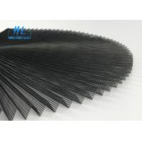 Wholesale Grey 15mm Pleated Plisse Insect Screen Height 2.5m * 25m Wide Polyester Material from china suppliers