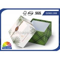 Wholesale Delicate Printing Design Lid / Base Paper Cardboard Gift Box Rigid Spot UV Surface from china suppliers