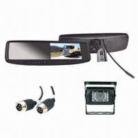 4 3 inch lcd mirror monitor with dual audio and vidio