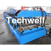Wholesale Automatic Steel / Iron / GI IBR Roofing Profiled Sheet Roll Forming Machine from china suppliers