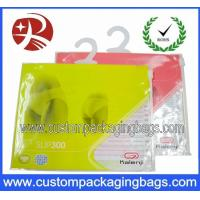 Buy cheap Apparel Plastic Hanger Bags With Multicolor , plastic bags printed from wholesalers