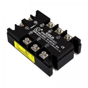 Wholesale Ssr40dd 40A 3 Phase Steady State Relay from china suppliers