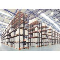 Buy cheap Beam Type Industrial Pallet Racks Suits for Single Species Products from wholesalers