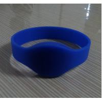 Wholesale Silicone rfid wrist band with Blue color from china suppliers