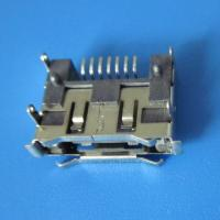 Wholesale 7Pin 90 angle dip smt  type female connector right angle SATA Connector,Double row inserts from china suppliers