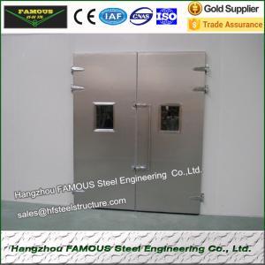 China cold room door or cold storage door or pu sandwich door on sale