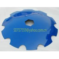 Buy cheap Notched disc blade from wholesalers