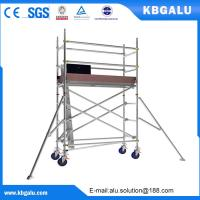 Wholesale Single width aluminum scaffold tower with 2.0m standing height from china suppliers