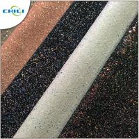 Wholesale Grade 3 Glitter Leather Fabric Style Mixed Attractive High Brightness from china suppliers