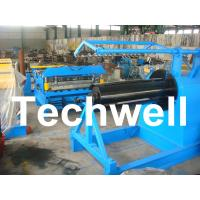 Wholesale Q235 / Q350 0.2 - 2.0mm Carbon Steel, Color Steel Simple Slitting Cutting Machine Line from china suppliers