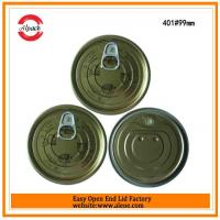 Wholesale 401 tuna fish can lid,99mm tomato paste lid,Tinplate easy open end,Tin can lid,Meat easy open lid from china suppliers