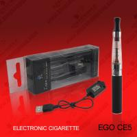 Wholesale Ego Electronic Ego Cigarette 1300mAh CE5 Clearomizer e-cigarette Atomizer with USB Charger Cable from china suppliers