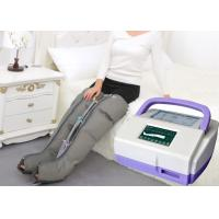 Sequential Inflatable Leg Massager , Blood Circulation Long Boot Air Massager