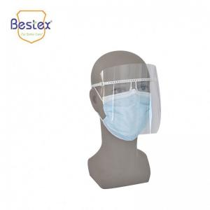 Wholesale Half Size 2.3cm 43g Multifunctional Transparent Face Shield from china suppliers