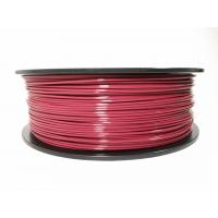 Buy cheap 1.75mm 3.0mm 2.85m ABS plastic 3d printer filament with around 35 colors product