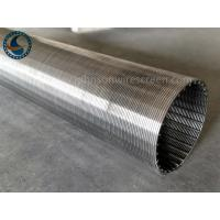 Wholesale Water Filtration Wedge Wire Screen Panels Non - Clogging Outer Diameter 169mm from china suppliers