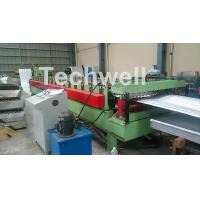 Wholesale Aluminium Corrugated Sheet Roof Roll Forming Machine High Speed 10-15m / Min from china suppliers