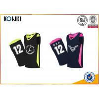 China Mesh Fabric Custom Sports Apparel Basketball Uniform For Adults Womens / Men on sale