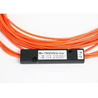 China 1310nm 1490nm 1550nm Three Window FBT Fiber Optic Splitter / Multimode Fiber Splitter on sale