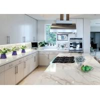 China Natural Color Pattern Quartz Kitchen Countertops Non Slip Montary on sale
