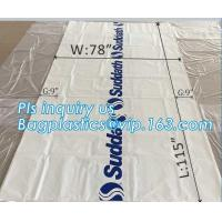 Wholesale pe bag pallet cover plastic bag sqaure bottom bag, 54 x 44 x 96 1 Mil ldpe Clear Pallet Covers, top covers clear plasti from china suppliers